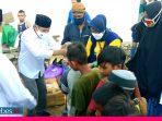 Waketum Partai Nasdem Bagikan Zakat Mal ke Huntara Korban Gempa Palu