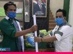 DPC PKB Palu Distribusikan 3.000 Masker Gus AMI