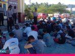 Polres Tolitoli Amankan 44 Orang Pelaku Balap Liar saat Bulan Puasa