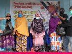 Peduli Covid-19, Persatuan Jurnalis Morowali Salurkan Bantuan Sembako ke Kaum Dhuafa