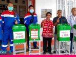 Pertamina Salurkan Bantuan Paket Sembako dan Wastafel Portable di Donggala