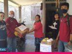 SDM PKH Poso Beri Bantuan Perlengkapan Bayi ke Korban Banjir
