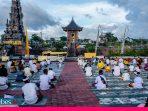 Ibadah Bersama Umat Hindu Kota Palu di Tengah Pandemi
