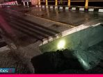 Dihantam Banjir, Jembatan di Torue Ambrol, Jalur Trans Parigi-Poso Terputus