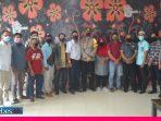 Pererat Hubungan Kemitraan, Polres dan Jurnalis Morowali Coffee Morning