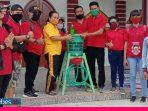 Menghadapi New Normal, Karang Taruna Desa Tangkura Sediakan Tempat Cuci Tangan di Rumah Ibadah