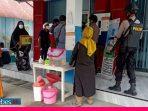 Polres Morowali Gelar Patroli Dialogis, Warga Dihimbau Selalu Pakai Masker dan Rajin Cuci Tangan