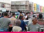 Tak Terima Ditertibkan, Pedagang Pasar Inpres Manonda Berkelahi dengan Satpol PP