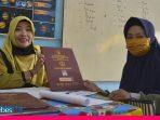 Terima Rapor Sekolah di Tengah Pandemi, SDN 3 Palu Terapkan Protokol Kesehatan