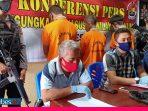 Reskrim Polres Poso Ungkap Kasus Pencurian