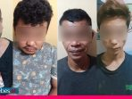 Sedang Pesta Sabu, Lima Warga di Besusu Barat Diciduk Polisi