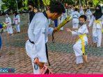 Lapangan Vatulamo Dibuka, Dojang Taekwondo Palu Beradaptasi Normal Baru