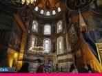 Erdogan Pastikan Ikon Kristen Tetap Ada di Hagia Sophia