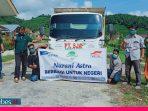 Peduli Korban Bencana Masamba, PT. SJA Poso Salurkan Bantuan Makanan dan Pakaian