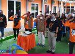 Gelar Apel Serentak, KPU Sigi Langsung Coklit di Dua Desa di Dolo