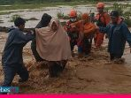Air Sungai Meluap di Bahodopi, Sejumlah Warga Dievakuasi