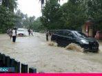Hujan Seharian, Jalan Poros di Morowali Tergenang Banjir