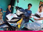 Yayasan CCI Bantu Sepeda Motor untuk Paramitha, Korban Lumpuh akibat Gempa Palu