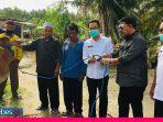 DPRD Sulteng Serahkan Bantuan Ternak Sapi Bagi Warga Sigi