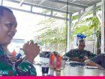Silaturahmi ke Markas Wartawan, Danrem Tadulako Brigjen Farid Ma'ruf Minta Dukungan Pemberitaan