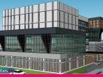 Megah, Gedung Pusat Bisnis Sulteng Telan Rp44 Miliar