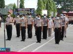 Sebanyak 635 Personel Polda Sulteng Mendapat Kenaikan Pangkat di HUT Bhayangkara ke-74