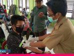 699 Petugas PDP KPU Kota Palu Jalani Rapid Tes Jelang Pelaksanaan Coklit