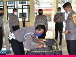 Polres Banggai Gelar Penandatanganan Pakta Integritas Penerimaan Terpadu Tamtama Polri