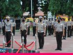 HUT Bhayangkara ke-74, 35 Anggota Polres Palu Naik Pangkat