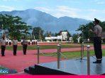 42 Personel Polres Sigi Naik Pangkat Saat Peringati HUT Bhayangkara Ke-74