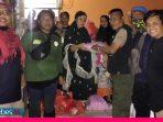 Relawan SKPI Sulteng Salurkan Bantuan Sembako Bagi Korban Banjir di Masamba