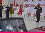 Gubernur-Forkopimda  Sulteng Ikuti HUT RI ke-75 Secara Virtual