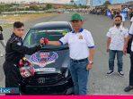 Hindari Ajang Balap Liar, Polda Sulteng Gelar Balap Mobil