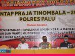 Polres Palu Gelar Latihan Pra Operasi Mantap Praja Jelang Pemilihan Walikota Palu 2020