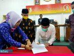 DPRD dan Bupati Sigi Setujui KUA/PPAS Tahun Anggaran 2021