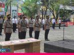 Kapolres Morowali Pimpin Sertijab Sejumlah Pejabatnya