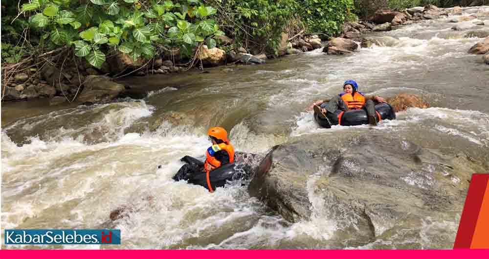 Wahana River Tubing Desa Tongoa Satu Lagi Menu Wisata Alam Di Sulawesi Tengah Kabarselebes Id