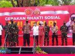 Panglima TNI dan Kapolri Lepas Bansos TNI-Polri Peduli Covid-19 di Sulteng