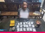 Edarkan 18 paket Sabu, Dua Pria di Jalan Asam Palu Diringkus Polisi