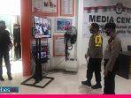 Kapolres Palu Cek Keamanan di Kantor KPU dan Bawaslu