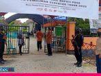 Tahapan Pendaftaran Bapaslon, KPU Poso Dijaga Ketat Polisi