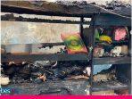Penampakan Al-Qur'an Utuh dalam Rumah yang Ludes Terbakar di Surabaya