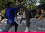 Giat Berlatih Walau Pandemi, Atlet Karate Sulteng Siap Dulang Medali di PON 2021