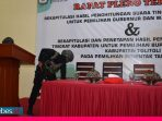 Brimob Mabes Polri Sterilkan Ruang Rapat Pleno KPU Toli Toli