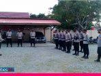 Polsek Sirenja Lakukan Pengamanan di 45 TPS