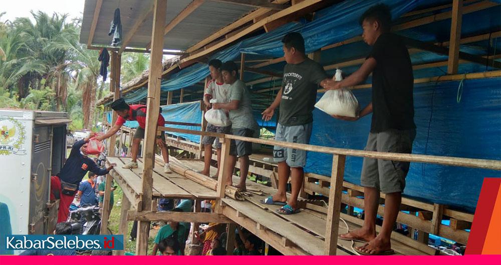 Bantuan Nasdem Pengungsi Sulbar