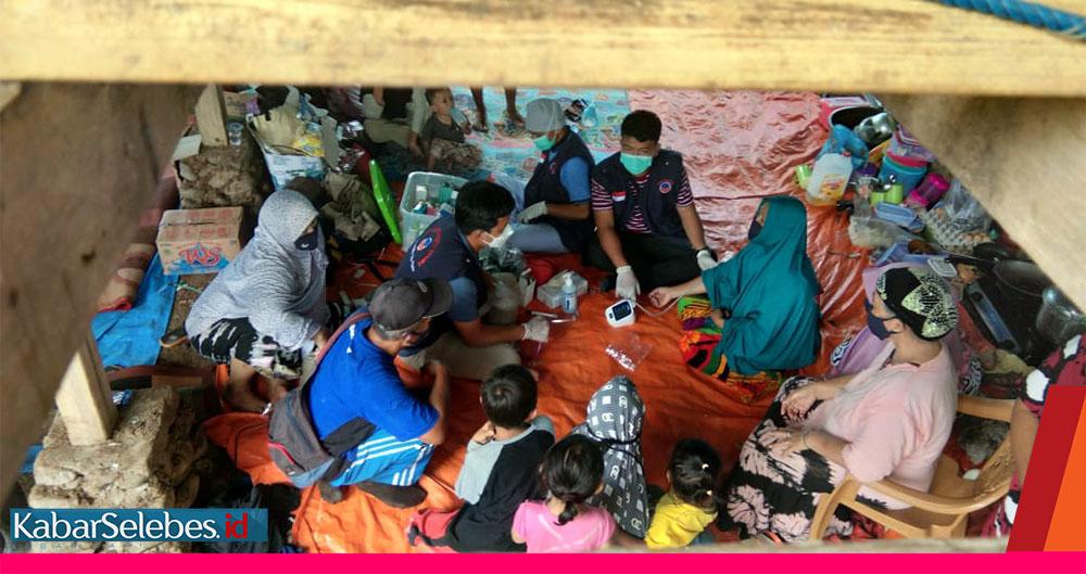 Pengungsi Gempa di Kandang