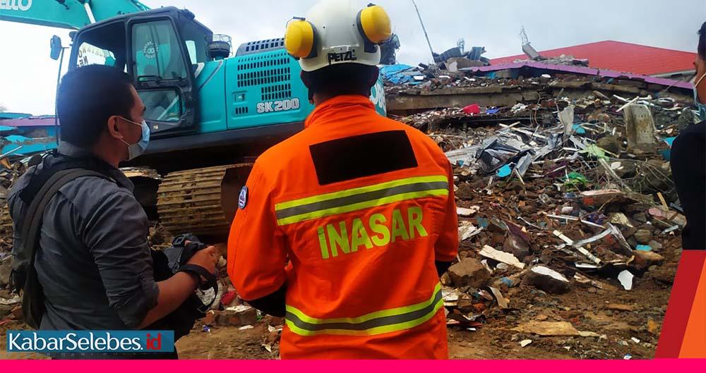 Reruntuhan RS Mamuju