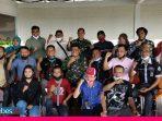 Silaturahmi dengan Wartawan di Morowali, Danlanal Palu Ajak Bangun Sinergitas