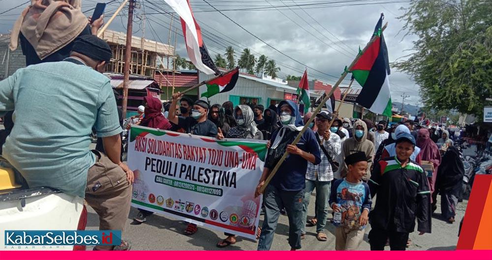 Aksi Palestina Ampana